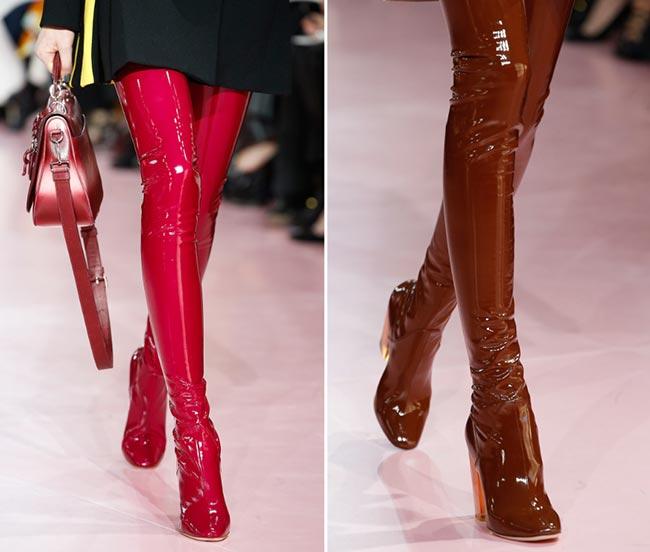 Paris_Fashion_Week_Fall_2015_accessories_Christian_Dior_latex_boots
