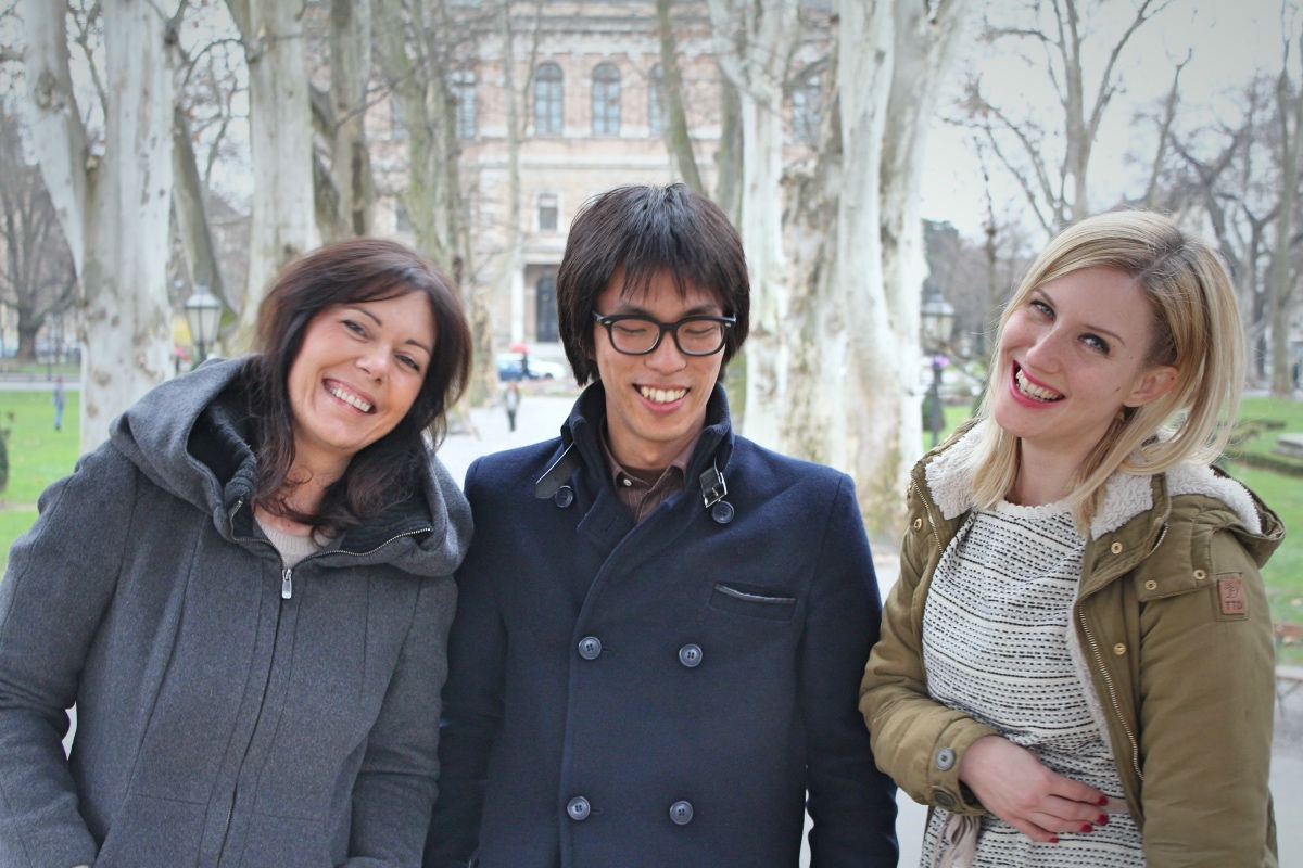 Yuya, Lidija i Matea